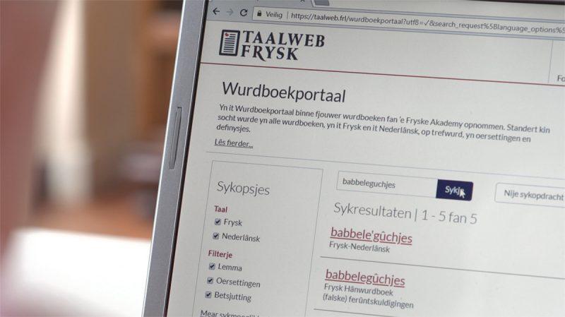 Online Frysk wurdboek